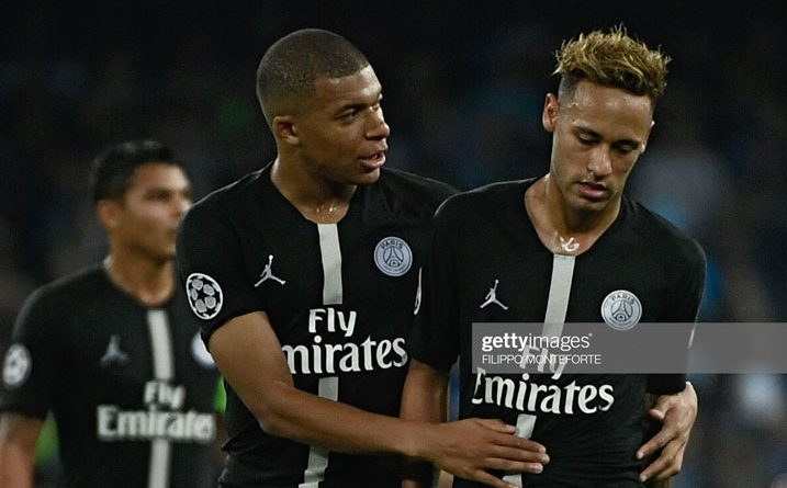 Mbappe and Neymar_PSG