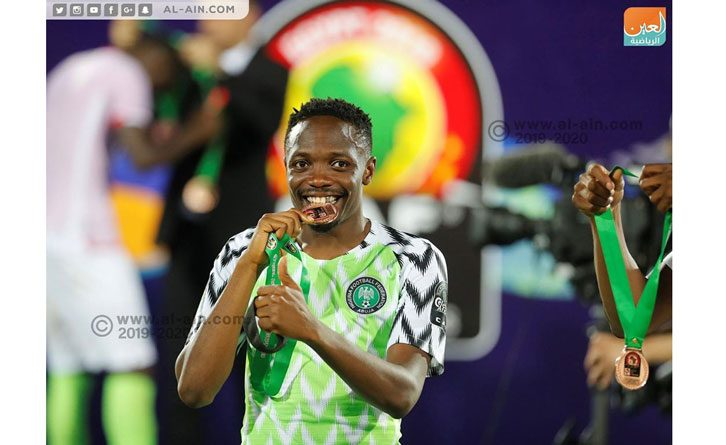 ahmed musa wins nations cup bronze with eagles