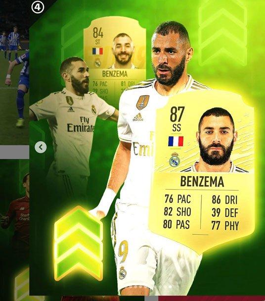 Karim Benzema FIFA 20