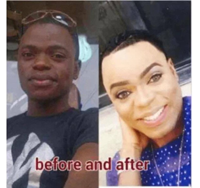 Bobrisky Before and After