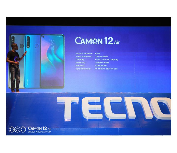 tecno camon 12 air specifications