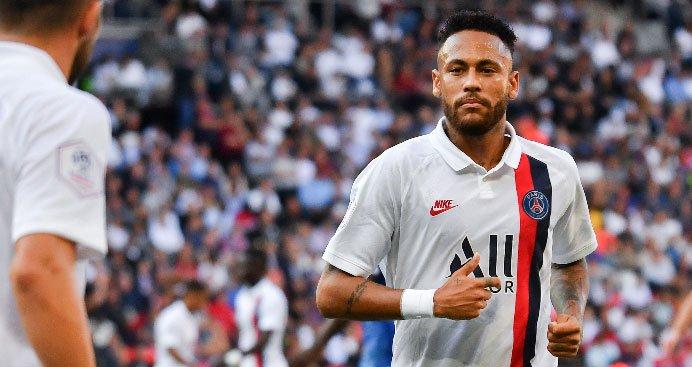 Neymar PSG away kit 2019