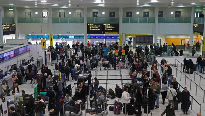 worst airports in the world - Gatwick, London