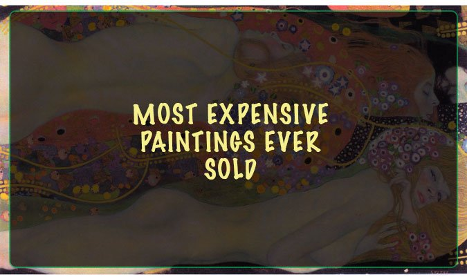 most expensive paintings ever sold