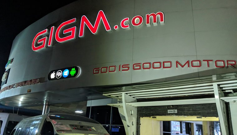 god is good motors head office