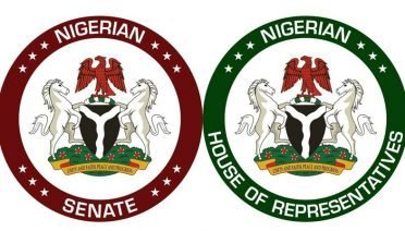 Coat of arms on Senate and House of Reps seal, Nigeria