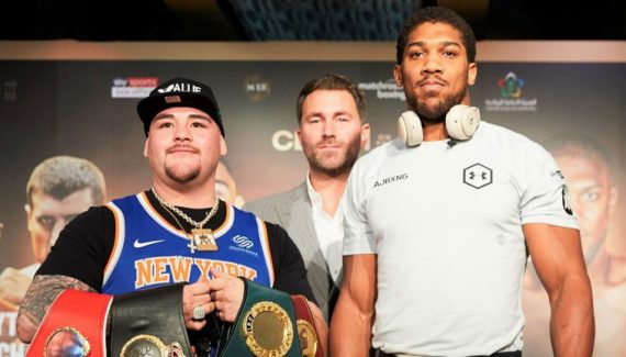where to watch Anthony Joshua vs Ruiz Jr
