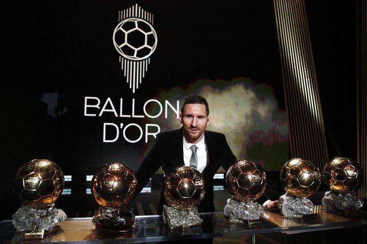 Lionel Messi - ballon d'or winner 2019