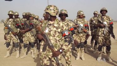 The Nigerian army