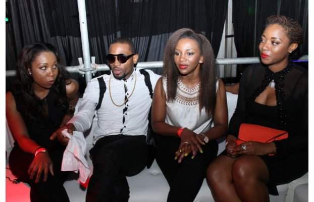 Genevieve with D'banj