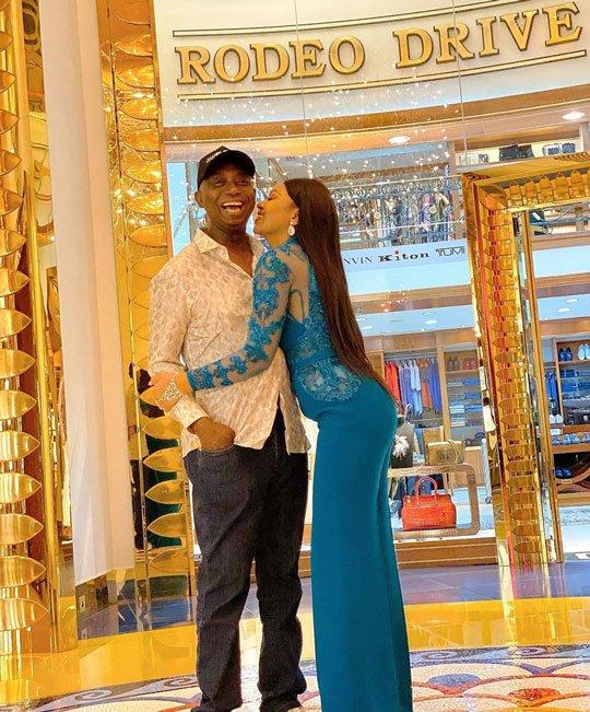 Regina Daniels and Husband