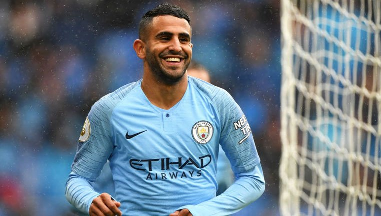 Mahrez - highest scoring African players in Premier League history