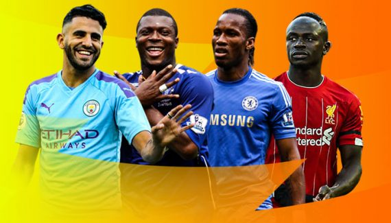 highest scoring African players in Premier League history