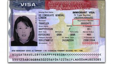 alien registration number