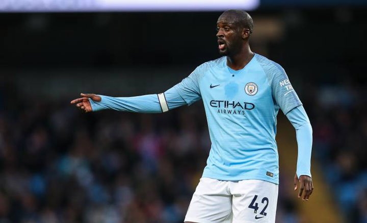 Toure Man City