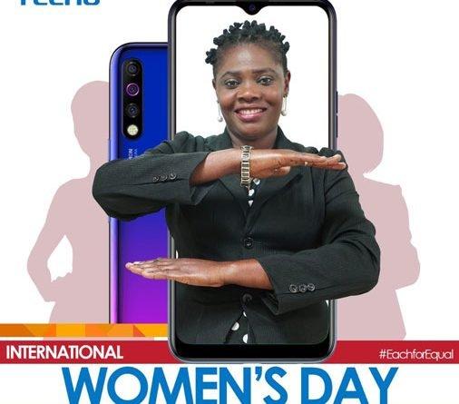 tecno celebrating international womens day