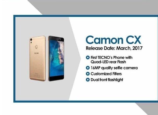 Camon CX