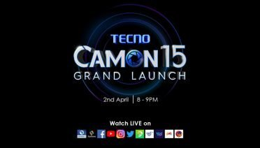 camon 15 launch