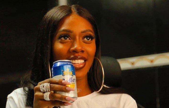 Tiwa Save endorsement deal star large beer