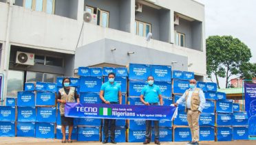 tecno foundation against COVID-19
