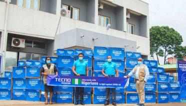 tecno foundation against COVID-19