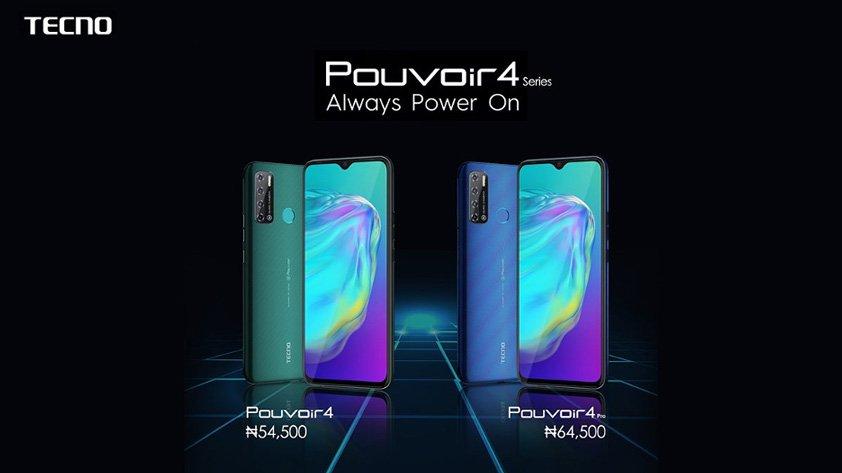tecno pouvoir 4 series price