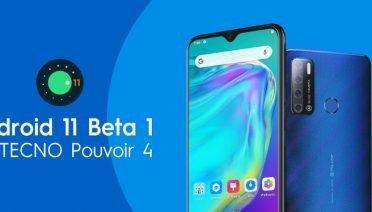 android 11 beta tecno pouvoir 4