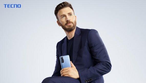 Chris Evans, TECNO Brand Ambassador