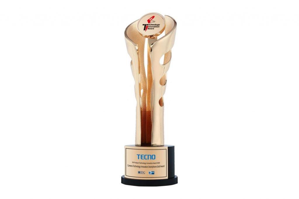 TECNO smartphone award