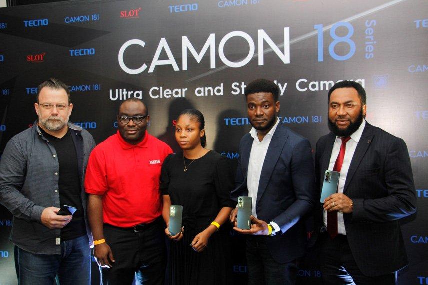 tecno camon 18 premier launch
